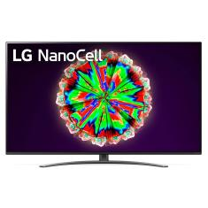 "Smart TV Nano Cristal 55"" LG ThinQ AI 4K HDR 55NANO81SNA"