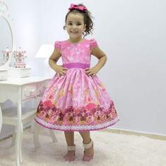 Imagem de Vestido infantil  tema Barbie princesa