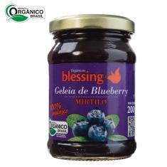 Imagem de Geleia de Blueberry Mirtilo Orgânica Blessing 200gr