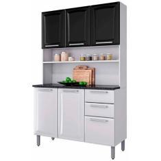 Imagem de Cozinha Compacta 2 Gavetas 6 Portas Regina I3G2-120 Itatiaia