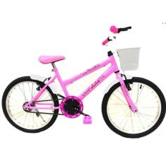 Bicicleta Bike Power MTB Aro 20 Freio V-Brake Julie