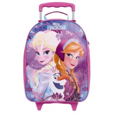 Mochila com Rodinhas Escolar Dermiwil Disney Frozen G 30304