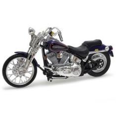 Imagem de Harley Davidson FXSTS Springer Softail 2001 Maisto 1:18 Série 29