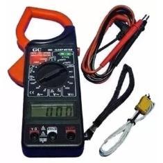 Imagem de Alicate Amperímetro E Multímetro Digital Temperatura Estojo