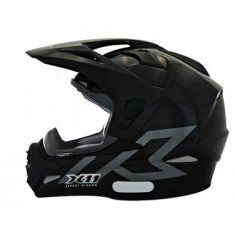166827d3a76cc Capacete X-11 Expert Riders Crossover Off-Road Viseira Antirrisco