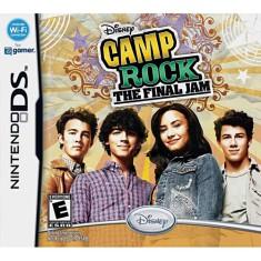 Jogo Camp Rock The Final Jam Disney Nintendo DS