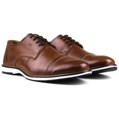 Imagem de Sapato Oxford Casual Social Masculino Brogue Premium em Couro