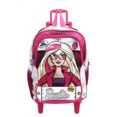Imagem de Mochila com Rodinhas Escolar Sestini Barbie Barbie E As Agentes Secretas G 64458