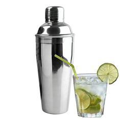 Imagem de Coqueteleira Aço Inox 500 Ml Drinks Caipirinha Batidas Bar
