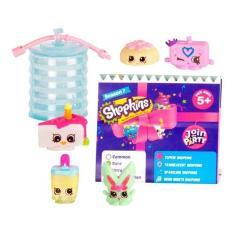 Imagem de Shopkins Blister Super Festa Série 7 Kit Com 5 Shopkins Dtc