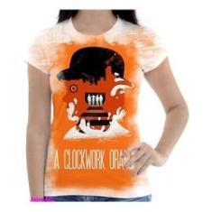 Imagem de Camiseta Camisa Feminina Orange Laranja Mecanica 13