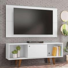 Imagem de Rack Com Painel Para Tv Até 42 Polegadas Salah  135 Cm
