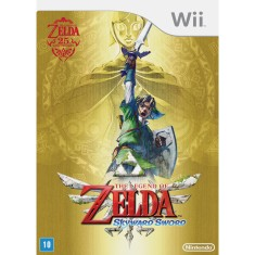 Jogo Legend of Zelda: Skyward Sword Wii Nintendo