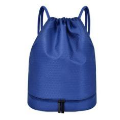 Imagem de Mochila com cordão, bolsa esportiva molhada e seca, ombro para viagem, piscina, praia, mochila multifuncional à prova d'água, , 30 x 18 x 39 cm