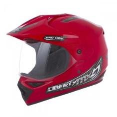 Capacete Protork MX Pro Vision CAP-150 Off-Road com viseira