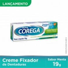 Imagem de Corega Ultra Creme Fixador Para Dentaduras Menta 19g