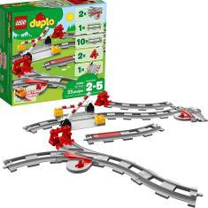 Imagem de LEGO DUPLO Trilhos de trem 10882 Blocos de construção (23 peças)