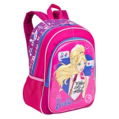 Mochila Escolar E-BLUE Barbie 17X G 64750