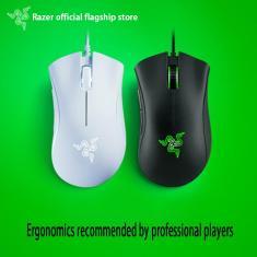 Imagem de Razer deathadder essencial wired gaming mouse 6400dpi ergonômico profissional-grau sensor óptico