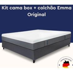 Imagem de Cama Box Solteiro com Colchão Original 88cm Emma