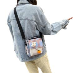 Imagem de Versão Coreana lona Saco bonito da menina suaves feminino Bag selvagem Ombro Bag