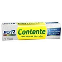 Imagem de Creme Dent Max12 Branqueador 12 Unidades 70G Contente