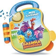 Imagem de Brinquedo Para Bebe Galinha Pintadinha Livro Sonor