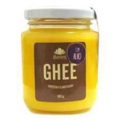 Imagem de Ghee Com Alho - Manteiga Clarificada Sem Lactose - Benni 200g