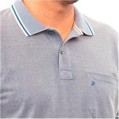 Imagem de Camisa Polo com Bolso Piquet Gold John Pull   Bege