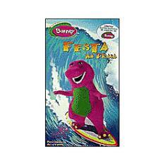 Imagem de VHS Barney Festa na Praia