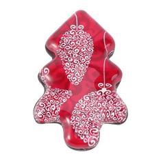 Imagem de Lurrose Adesivo de Ãmã de Refrigerador de Natal 3D Em Forma de Ãrvore de Natal Adesivo de Ãmã de Vidro de Geladeira Com Tema de Natal Adesivo Decorativo para Cozinha Em Casa ()