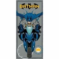 Imagem de Toalha de Banho Infantil Felpuda Batman Super Bike