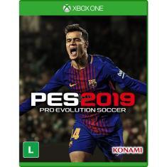 Jogo Pro Evolution Soccer 2019 Xbox One Konami
