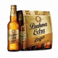 Imagem de Cerveja Brahma Extra Lager 355ml Caixa (6 Unidades)