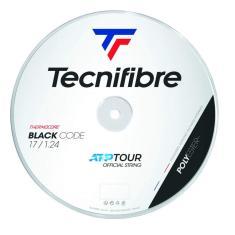 Imagem de Rolo Corda Raquete Tênis Tecnifibre Black Code 1.24 200M