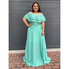 Imagem de Vestido Madrinha De Casamento Plus Size