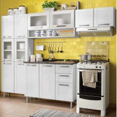 Imagem de Cozinha Compacta 2 Gavetas 13 Portas Multipla Bertolini