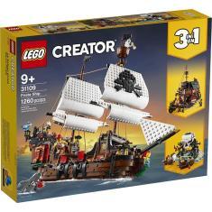 Imagem de Lego Creator 3 Em 1 Barco Pirata V39 31109