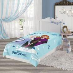 Imagem de Manta Estampada Frozen 1,50m x 2,20m Com 1 peça - Lepper