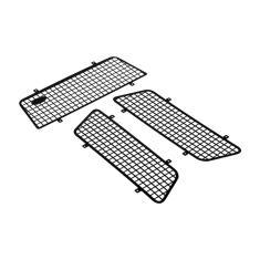 Imagem de Rede de proteção de malha de janela de metal 3 peças com logotipo para carro 1/10 rc