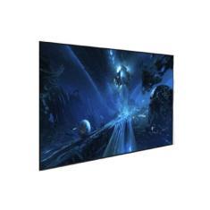 "Tela de Projeção Projetelas Fixa 119"" Frame Slim Ultravision 119FSW-UV 16:9 Cinza 1.3"