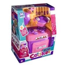 Imagem de Brinquedo Cozinha Infantil Panelinhas E Fogão - Zuca Toys