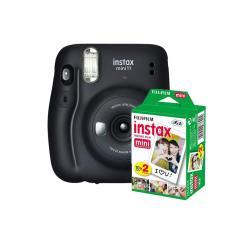 kit Câmera Instantânea Fujifilm Instax Mini 11 Grafite + Filme com 20 Fotos