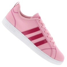 1748221dda2 Tênis Adidas Infantil (Menina) Casual VS Advantage K