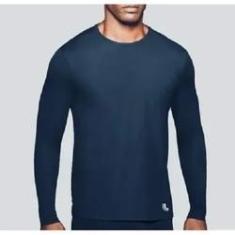 Imagem de Camiseta Lupo AM Repelente UV Masculina - 77031 -  Marinho