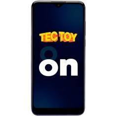 Imagem de Smartphone Tec Toy On 128GB Android Câmera Tripla 2 Chips