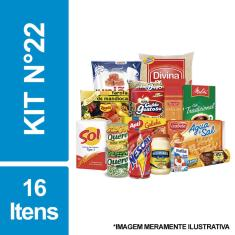 Imagem de Cesta Básica De Alimentos C/ 16 Itens