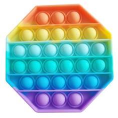 Imagem de Anti Stress Fidget Toys Hand Spinner Pop It Bolha Colorido