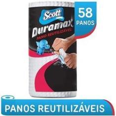 Imagem de Pano Multiuso Duramax Scott Kit Com 58 Panos