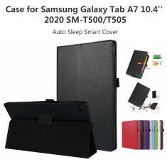 Imagem de Capinha para samsung galaxy tab a7 10.4 SM-T500/t505 tablet ajustável dobrável suporte capa para